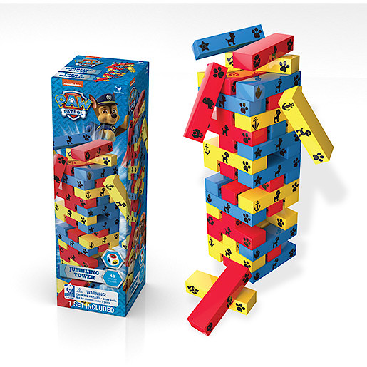 Paw Patrol Jumbling Tower Game