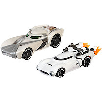 Hot Wheels Star Wars Cars - Rey & Flametrooper