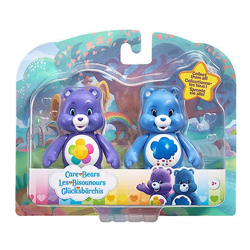 Image of Care Bears Figure Twin Pack - Grumpy Bear & Harmony Bear