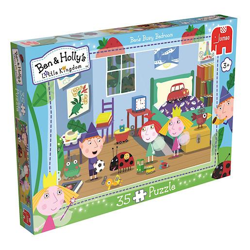 Ben /& Holly/'s Little Kingdom Puzzle guests Super Maxi 35 PCS NEW