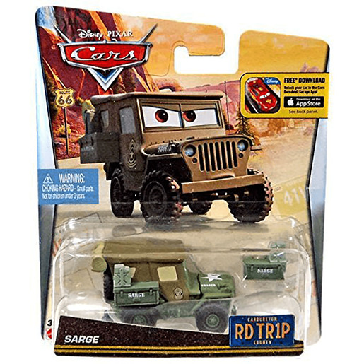 Disney Pixar Cars Road Trip - Sarge
