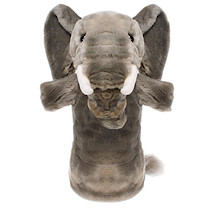 Long-Sleeved Glove Puppet - Elephant