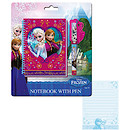 Disney Frozen Notebook and Necklace Pen