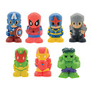 Marvel Ooshies Pencil Topper 7 Pack (Styles Vary)