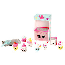 Shopkins Food Fair Deluxe Pack - Cool & Creamy Collection
