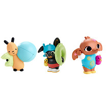 Fisher-Price Bing Bunny Bath Squirters Three Pack - Bing, Sula & Flop