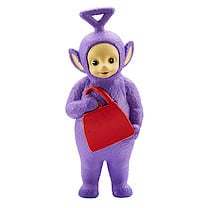Teletubbies 8.5cm Collectible Tinky Winky Figure with Bag
