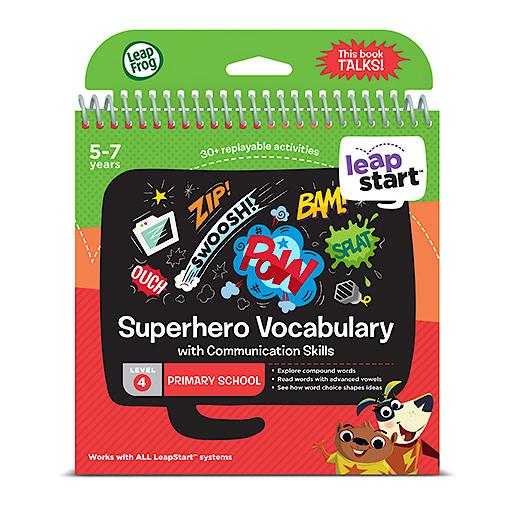 LeapFrog Leapstart Level 4 Activity Book - Superhero Vocabulary