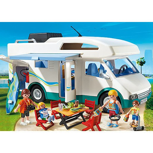 Playmobil - Summer Fun Summer Camper 6671