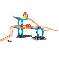 Hot Wheels Track Builder - Spiral Stack-up Track Set