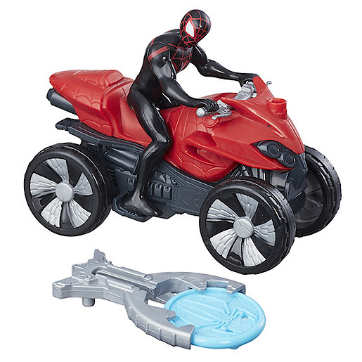 Marvel Spider-Man Blast N Go Racers - Kid Arachnid