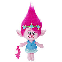 DreamWorks Trolls Talking Troll Soft Toy - Poppy