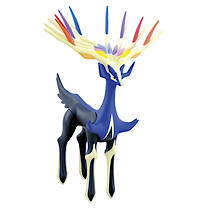 Pokemon XY Articulated Vinyl Xerneas Figure