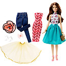 Barbie Mix 'n' Match Fashion Doll - Teresa