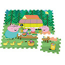 Peppa Pig Giant Foam Floor Puzzle - 9 Pieces