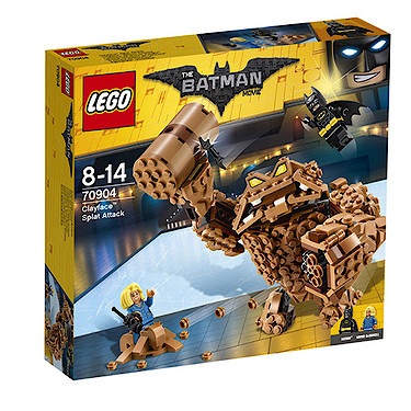 LEGO Batman Movie Clayface Splat Attack - 70904 - The Entertainer