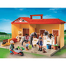 Playmobil - Country Take Along Horse Stable 5348
