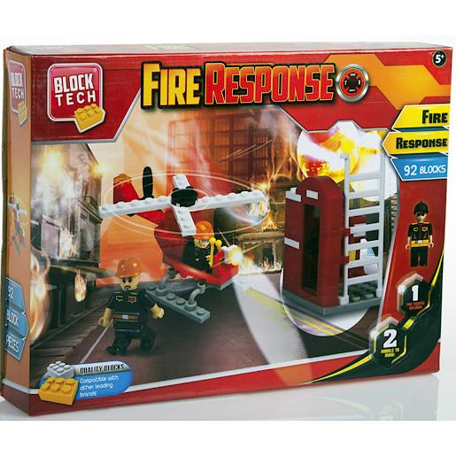 Block Tech Fire Response