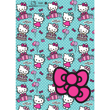 Hello Kitty 2 Sheet 2 Tag Pack The Entertainer The