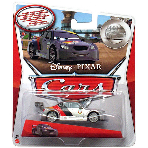 Image of Disney Cars Metallic Finish Series - Max Schnell Vehicle