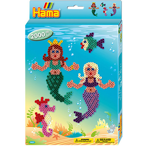 Hama Mermaids Box 2000 Beads