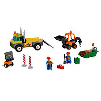 Lego Juniors Road Work Truck - 10683
