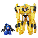 Transformers Robots in Disguise Combiner Force Figure - Stuntwing & Bumblebee