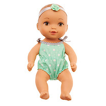 Waterbabies Sweet Cuddler Doll with Green Polkadot Beachtime Outfit