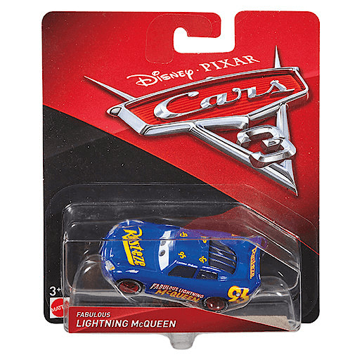 Disney Pixar Cars 3 Vehicle - Fabulous Lightning McQueen