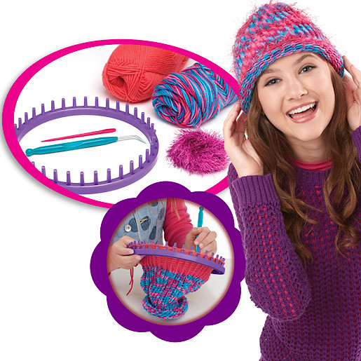Cra-Z-Knit Fashion Hat Kit