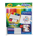 Crayola SuperTips Washable Markers and Sketchbook
