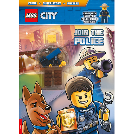 Lego City - Activity Book with Mini Figure