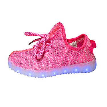 Pink Light and Sole LED Shoes