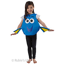 Disney Pixar Finding Dory Foam Tabard Dory Costume - Medium (Age 5-6)