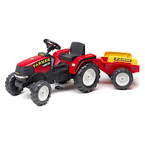 Farm Power Max Tractor with Trailer