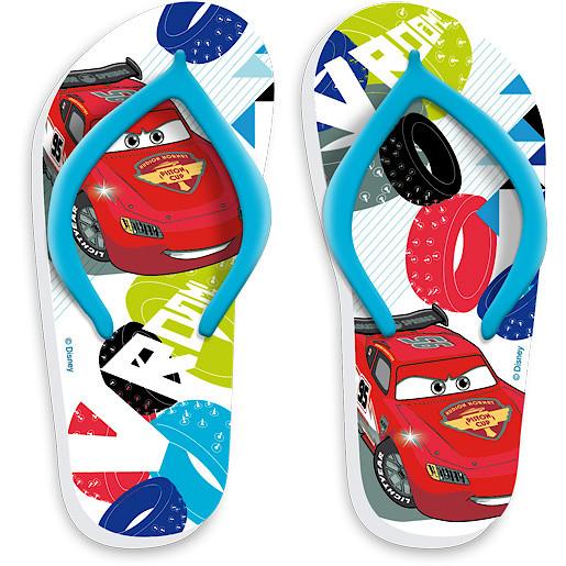 Image of Disney Cars Flip Flops Size 7.5-8.5