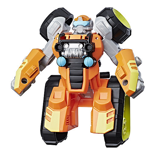 Playskool Transformers Rescue Bots 13cm Figure - Brushfire