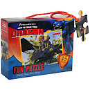 How to Train Your Dragon - Flying Toothless Jigsaw Puzzle
