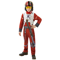 Star Wars The Force Awakens Hero Battler Costume With Mask (5-6 Years)