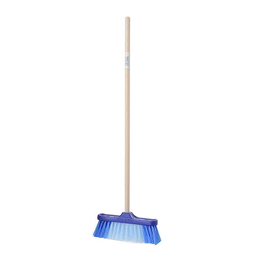 Blue Sweeping Broom