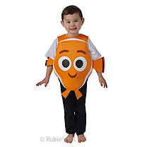 Disney Pixar Finding Dory Foam Tabard Nemo Costume - Medium (Age 5-6)