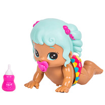 Little Live Bizzy Bubs Crawling Baby Doll - Poppy