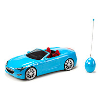 Bratz Remote Control Electric Blue Convertible Car