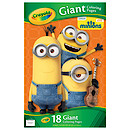 Crayola Minions Giant Colouring  Book