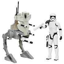 Star Wars 30cm Assault Walker and Riot Control Stormtrooper Sergeant Figure