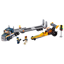 LEGO City Dragster Transporter - 60151