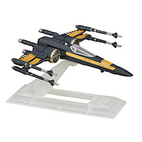 Star Wars The Black Series Poe's X-Wing Fighter Vehicle