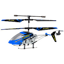 Bladez Gyro Remote Control 3 Channel Helicopter - Blue