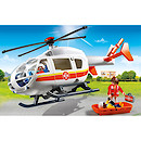 Playmobil - City Life Emergency Medical Helicopter 6686