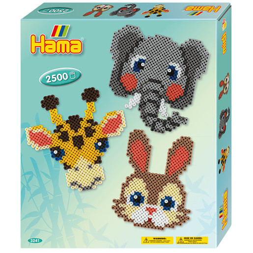 Hama Animal Faces - 500 Beads